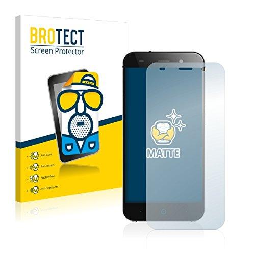 2X BROTECT Matt Bildschirmschutz Schutzfolie für ZTE Blade L6 (matt - entspiegelt, Kratzfest, schmutzabweisend)