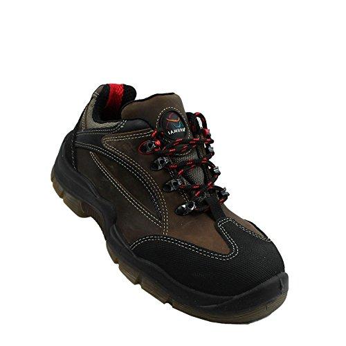 Samurai cornas s3 chaussures de travail chaussures chaussures berufsschuhe businessschuhe plat marron Marron