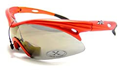 Mens X-loop Canyon Orange Runner Sport Style Sunglasses Shades