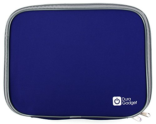 DURAGADGET Blue Lightweight & Shock-Absorbing Neoprene Sleeve/Case - Compatible with the Medion Akoya E2227T (MD 60491) - by