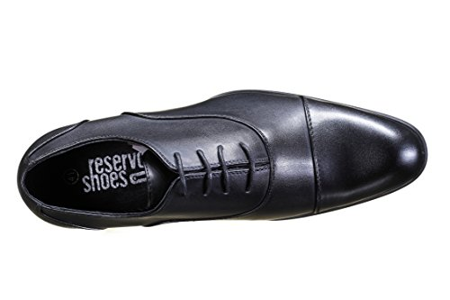 Reservoir Shoes - Chaussure Derbies Andre Black Noir