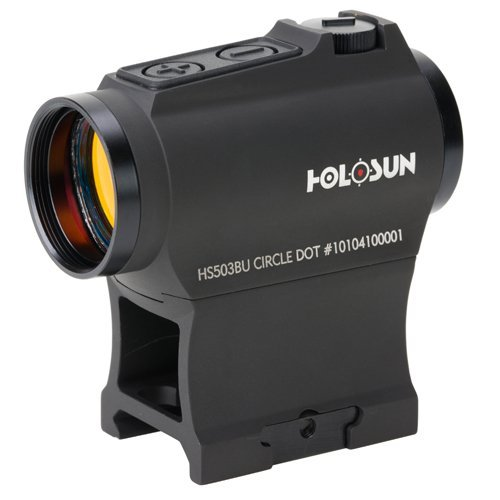 Holosun HS503BU Circle Dot Sight, 2 MOA Dot, 65 MOA Circle, Black by HOLOSUN