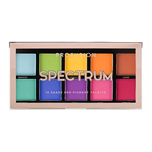 Profusion Cosmetics - Collezione Di Palette Di Ombretti 10 Colori, Spettro