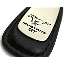 988231f878c88 dantegts Ford Mustang Leder Kette Schwarz Tear Drop Key Ring  Schlüsselanhänger Lanyard