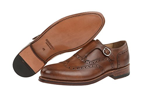 Gordon & Bros Levet 5087 Chaussures de c Monsieur Chaussures Business Chaussures Chaussons, Monk, Monks Trap,, Chaussures basses, Homme, Derby, Chaussures Goodyear Brown 9