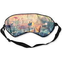 Sleep Eye Mask Paper Ship Rain Lightweight Soft Blindfold Adjustable Head Strap Eyeshade Travel Eyepatch E12 preisvergleich bei billige-tabletten.eu