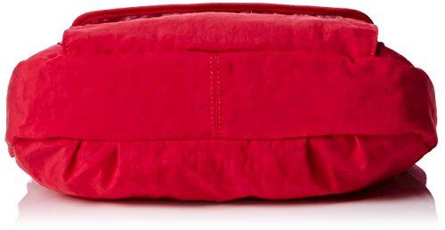 Kipling - Syro, Borse a Tracolla Donna Rosa (Flamboyant Pink)