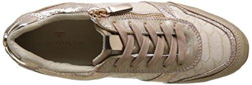 TOM TAILOR Damen 2794105 Sneaker Pink (rose-gold)