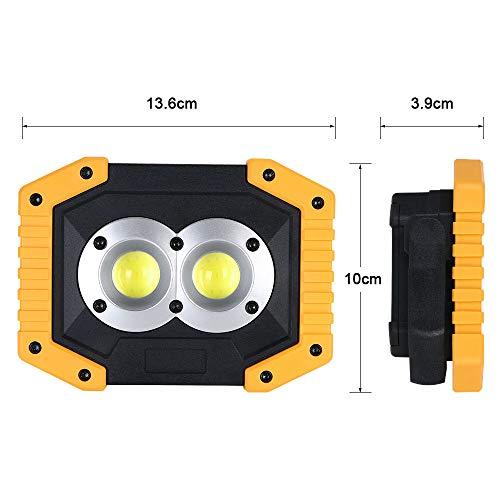 Zoom IMG-1 flintronic led portatile 20w 1500lm