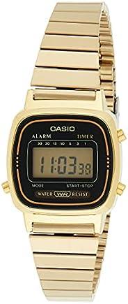 Casio Casual Watch Digital Display Quartz for Women LA670WGA-1D