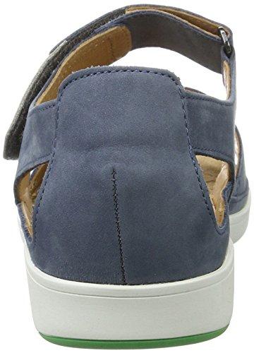 Ganter Damen Gina-G Sandalen Blau (jeans/stone)