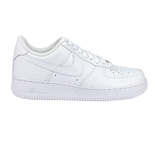 Nike Girls Air Force 1 Low Blanc