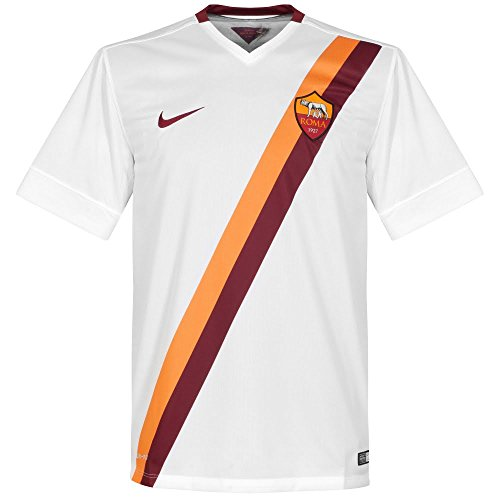 Nike Trikot As Rom Away Stadium 2014/2015 weiß XL