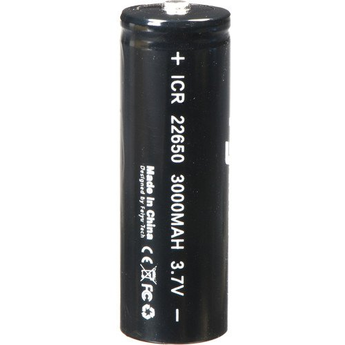 Feiyu Tech Original 22650 (3000 mAh, 3.7V) Battery for The G5/SPG/SPG C/SPG Plus Gimbal Stabilizer