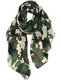 a64774063836 Amazon.fr   Multicolore - Foulards   Echarpes et foulards   Vêtements