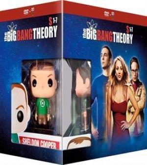 The Big Bang Theory (Seasons 1-7) - 22-DVD Box Set & Sheldon FUNKO Figurine ( ) [ Holländische Import ]