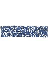 Kite de niña flores lazo floral Diadema Azul azul (marino) Talla única