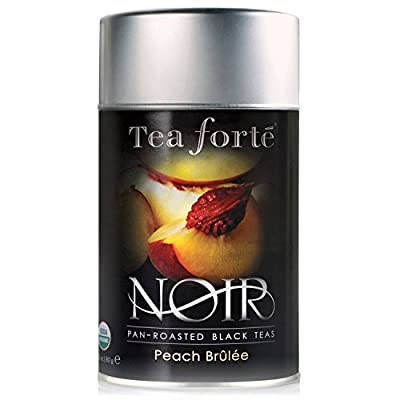 Tea Forte Peach Brûlée - Thé noir bio à la Pêche en vrac - 80 g by Tea Forté