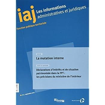 Informations administratives et juridiques n°09-2017
