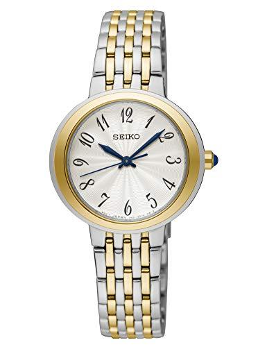 Seiko Analog White Dial Women's Watch - SRZ506P1