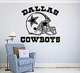 Zykang Brillint Yy Pvc Adesivi murali bambini Calcio Logo Sport Adesivi murali Decorazione rimovibile casa Preventivo Dallas Cowboys