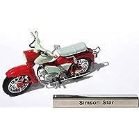 Fertigmodell SpecialC.-61 1:24 rot Unbekannt Simson SR 2 RHD Modellauto