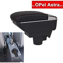 SZSS-CAR - Reposabrazos de piel para consola central de coche