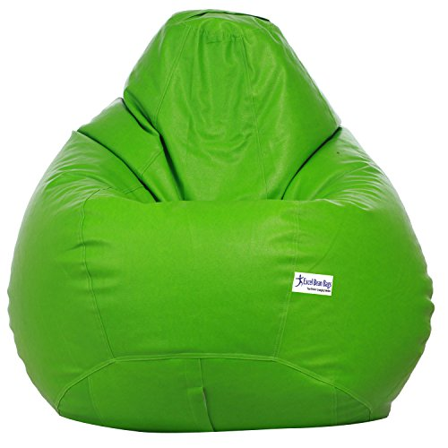 Excel Classic Bean Bag Cover without beans - XXXL Size - Neon Green Colour  available at amazon for Rs.899