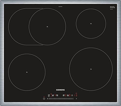 Siemens EH645FFB1E iQ300 Kochfeld Elektro / Ceran/Glaskeramik / 58,3 cm / Timer mit Ausschaltfunktion / schwarz