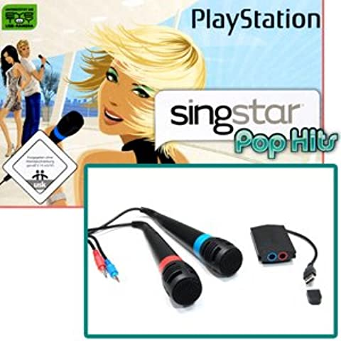 Sony SingStar 2 Microphone for PS2/PS3 (without game)