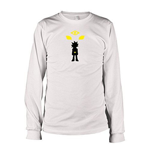 TEXLAB - Yugi - Langarm T-Shirt Weiß