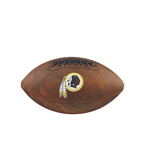 NFL Washington Redskins Junior Wilson Throwback Fußball, 27,9cm, braun