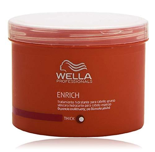 Wella - Enrich Moisturizing Treatment For Dry &Amp; Damaged Hair (Normal/ Thick) 500Ml/16.7Oz - Soins Des Cheveux