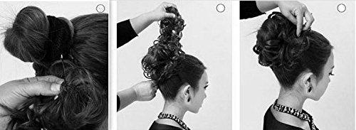 Haarteil Dutt : Prettyshop XXXL Haarteil Dutt Haargummi Hochsteckfrisuren
