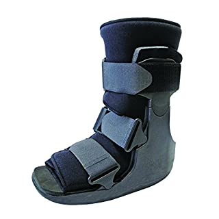 Short Fracture Walker Boot - Ideal For Stable Foot and Ankle Fracture, Achilles Tendon Surgery, Acute Ankle Sprains, Post Op Care (Medium (Shoe Size 6 - 9))