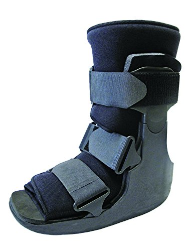 Short Fracture Walker Boot - Ideal For Stable Foot and Ankle Fracture, Achilles Tendon Surgery, Acute Ankle Sprains, Post Op Care (Medium (Shoe Size 11+)) -