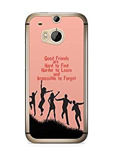 YuBingo Good Friends are Hard to Find Mobile Case Back Cover for HTC One M8