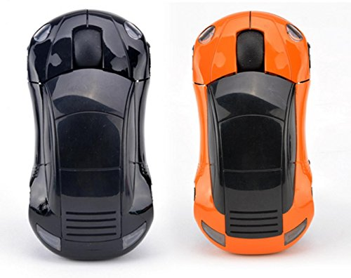 24 GHz Drahtlose Optische MausHikenn wireless network Kabellose Porsche Auto Form Funk Maus Fr PC Laptop USB Empfnger Muse