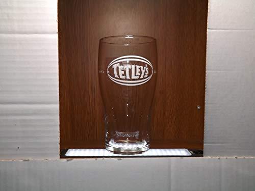 TETLEYS PINT GLASS x 1
