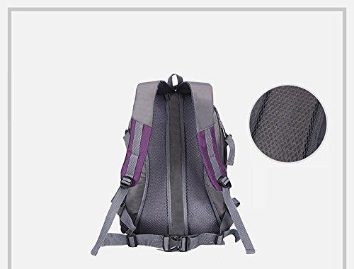 Tasca ultrasottile dello zaino / sacchetto di alpinismo impermeabile di viaggio / sacchetto di sport femminile / sacchetto di spalla maschio ( Colore : Rosso ) Blu