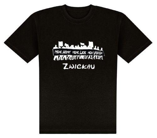 World of Football T-Shirt meine Heimat... Zwickau - L