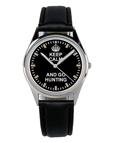 Jäger Förster Geschenk Fan Artikel Zubehör Fanartikel Uhr B-2066 (Trikot-jäger)
