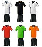 Erima Meisterschaft Volleyball Herren Trikot & Shorts Set versch. Farben , Grösse:S;Farben:Schwarz-Gelb