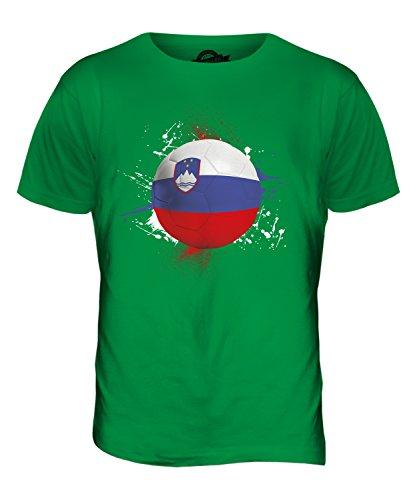 CandyMix Slowenien Fußball Herren T Shirt Grün