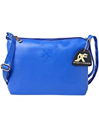 Speed X Fashion Girls PU Sling Bag (SMTY-0TY Blue)