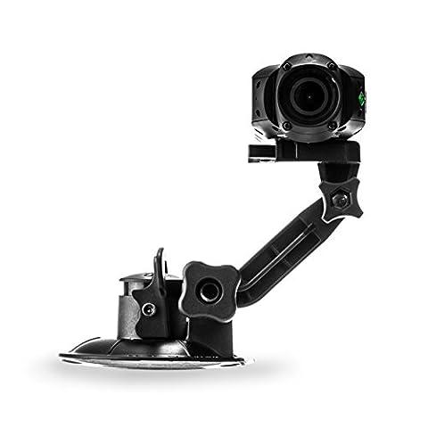 Drift Innovation 30-007-00 Support Ventouse avec Rotation à 360 Degrés Compatible avec Toutes les Caméras Drift - Noir