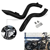 YSMOTO - Silenziatore di Scarico per Harley Davidson Sportsters 883 1200 1986-2013 Baggers Softtails Customs Dyna FXD & FXDWG