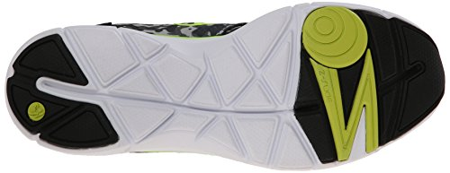 Zumba Footwear Zumba Fly Print, Chaussures de fitness femme Multicolore (Black/Grey/Yellow)