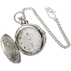 Charles Hubert 3851 Quartz Picture Frame Pocket Watch