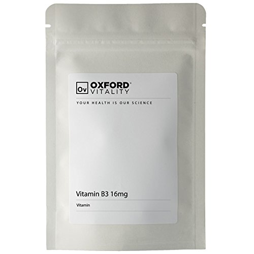 Oxford Vitality - Comprimés Vitamine B3 16mg